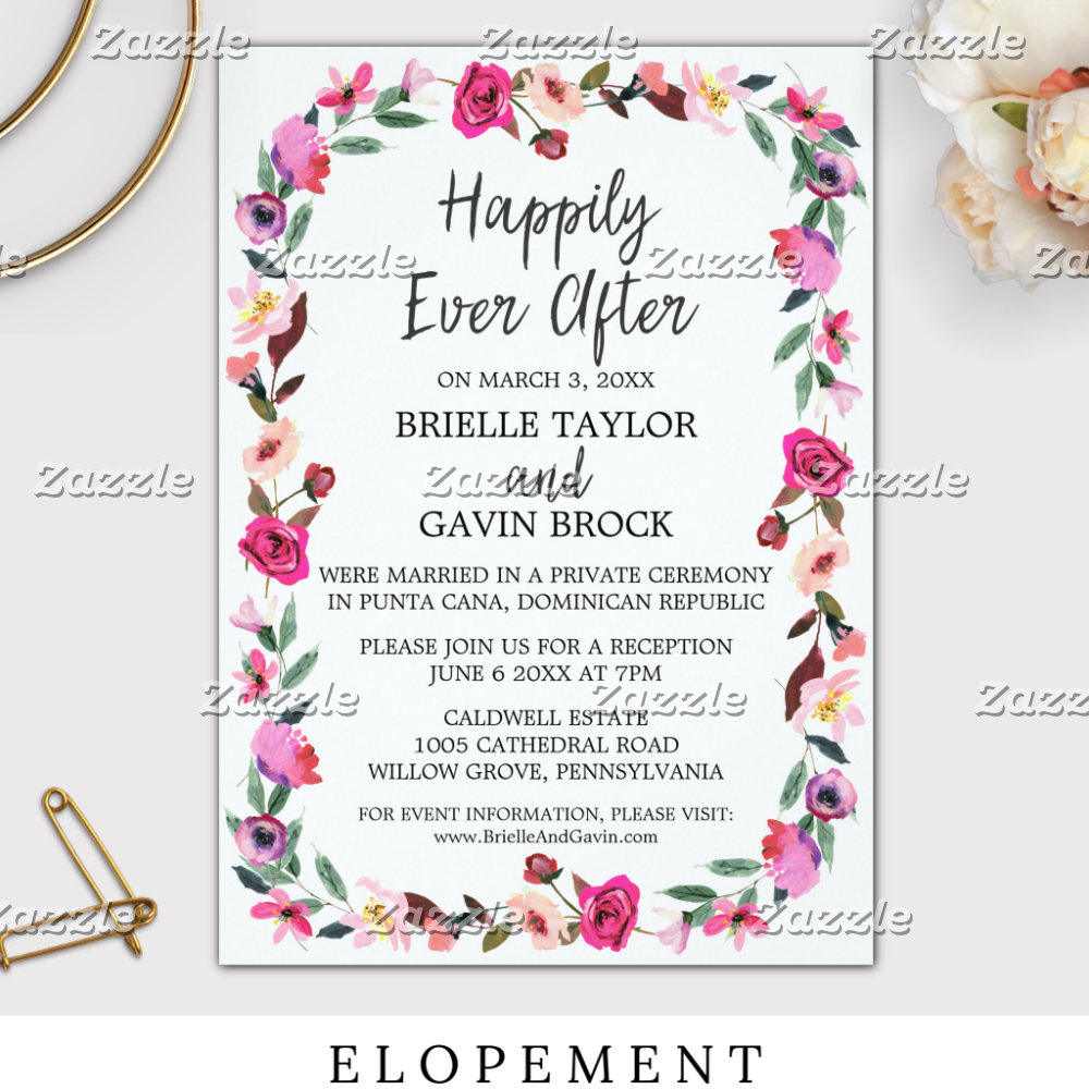 Elopement & Announcement