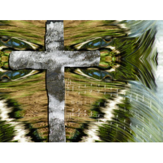 Living Water Cross, Ichthus, and Song