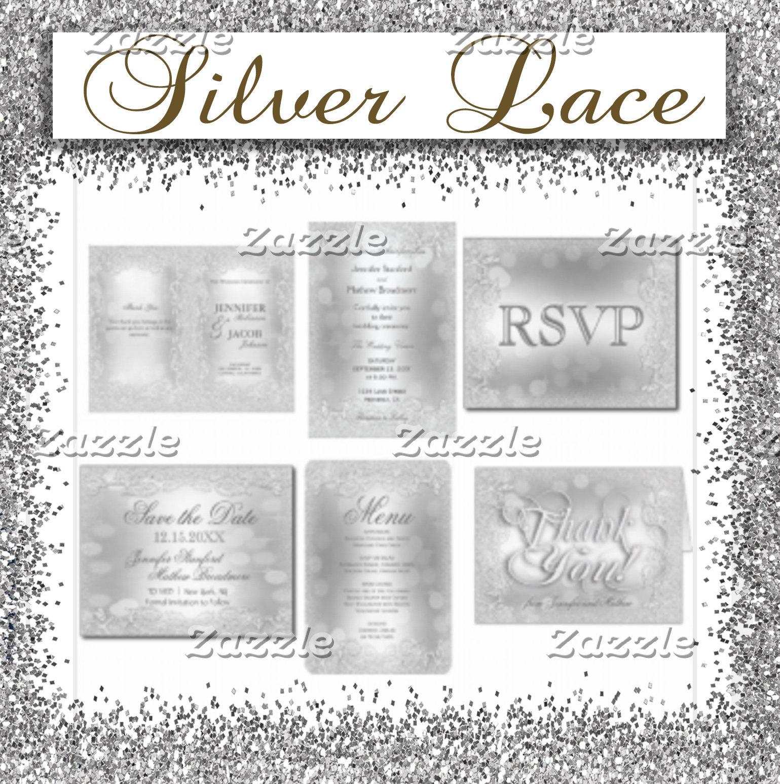 Elegant Silver Wedding Collection
