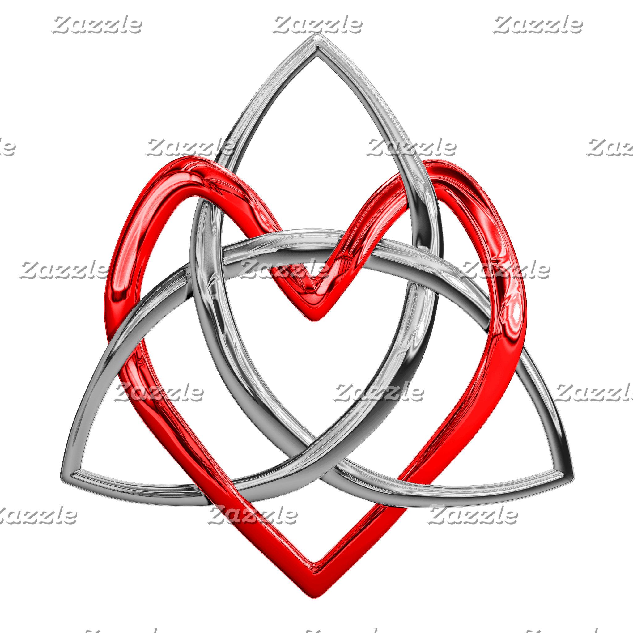 Celtic Trinity Heart