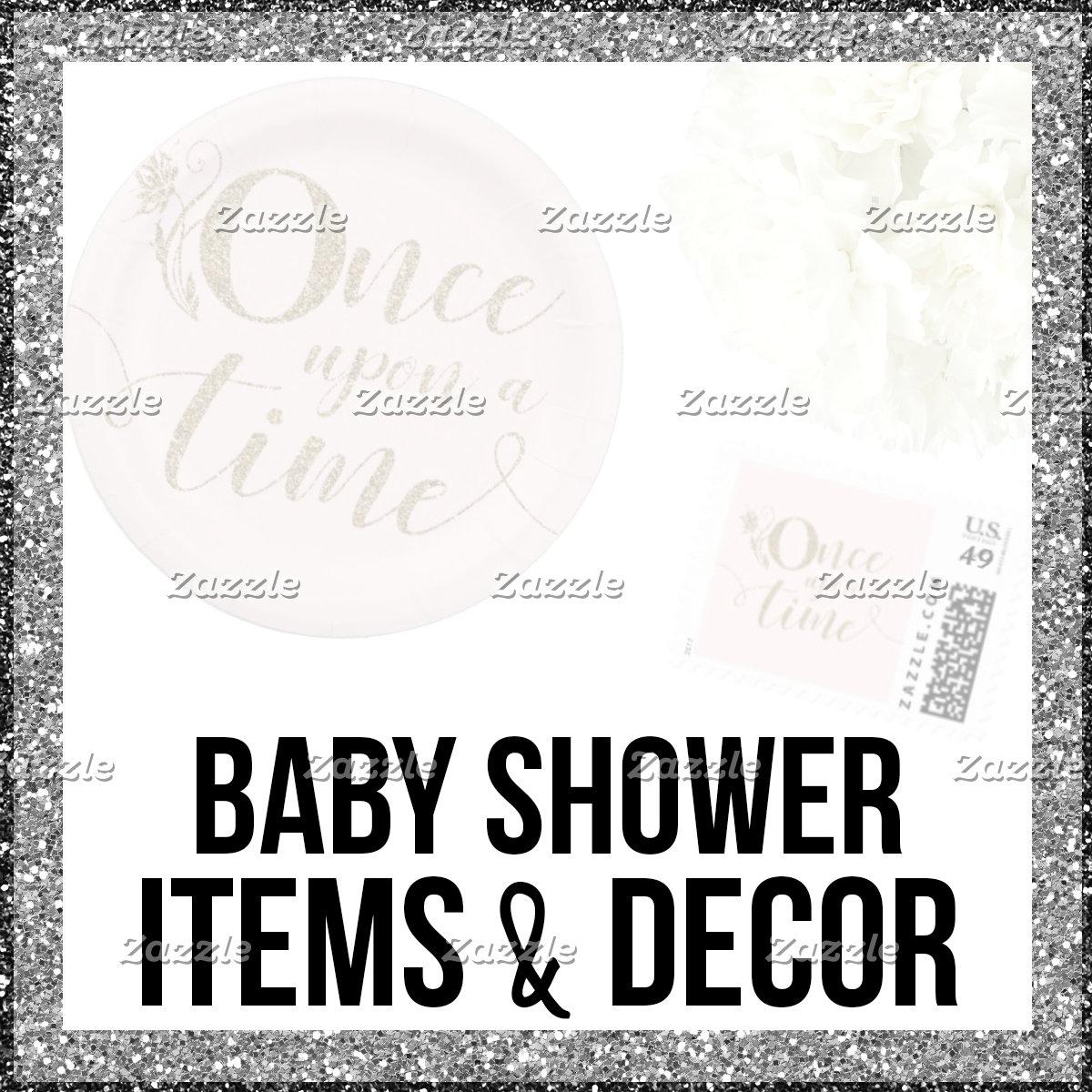 Baby Shower Items & Decor