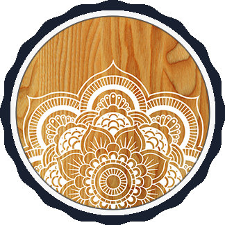 Wood and Mandala