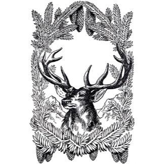 Deer monogram