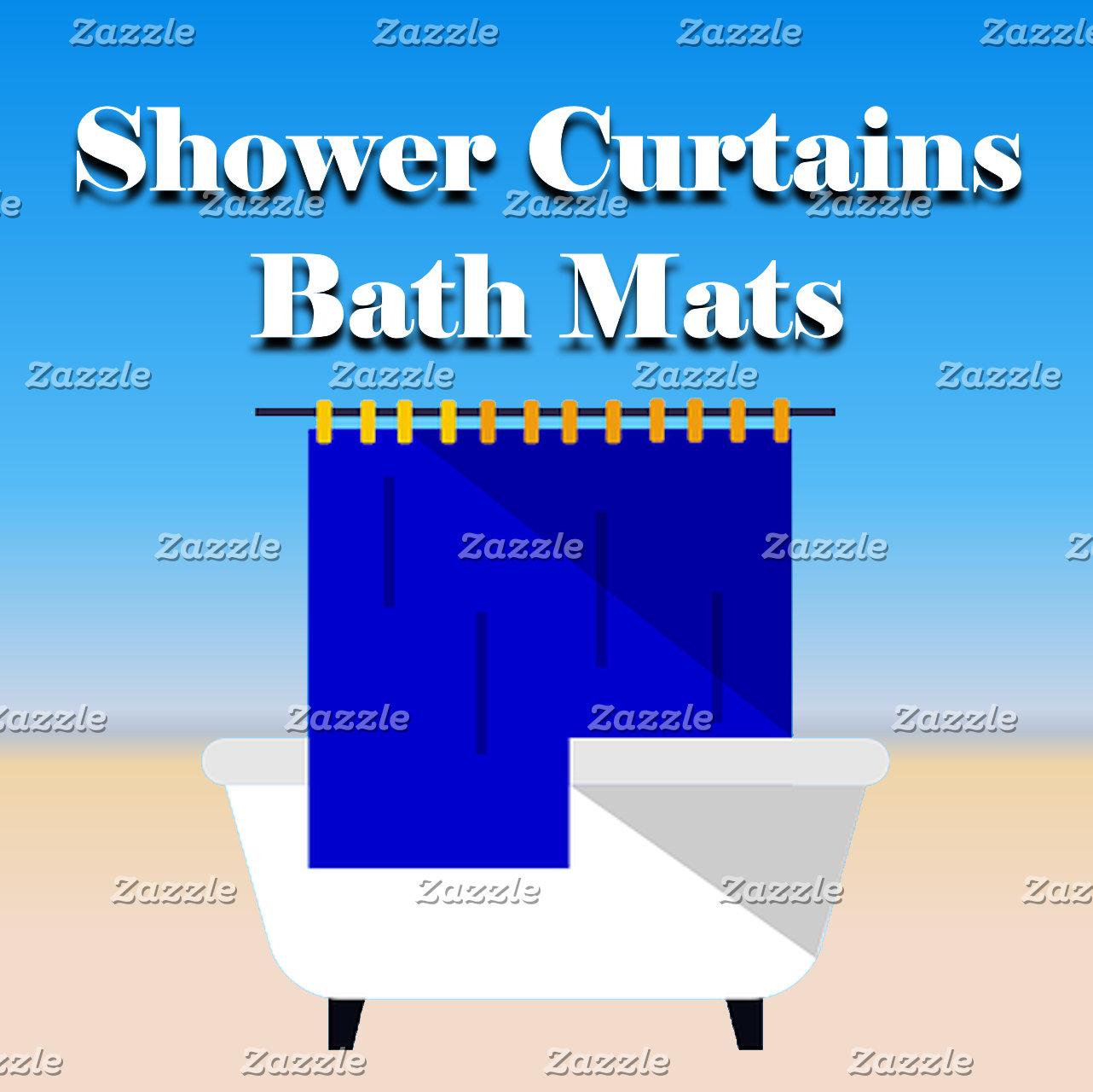 Bath~Shower Curtains & Mats