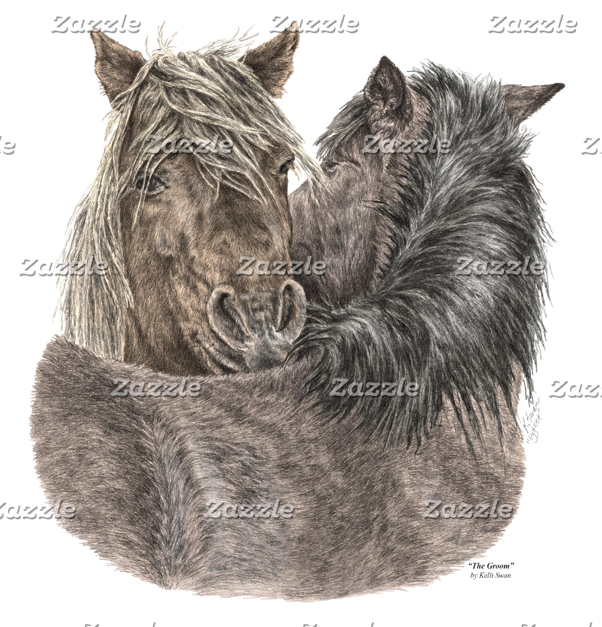 Chincoteague Pony Art