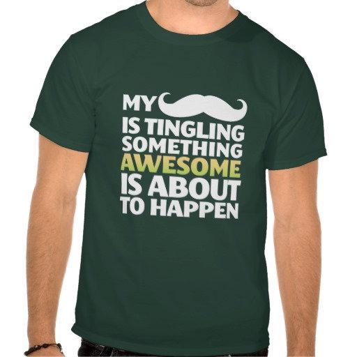 T-shirt: Moustache