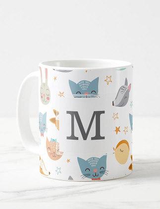 Cute Monogram Mugs - Zazzle