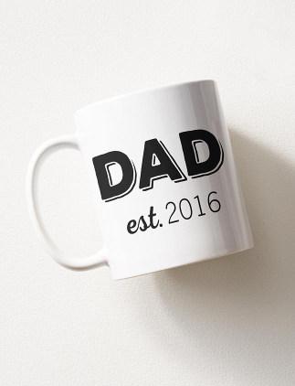 New Dad Mugs