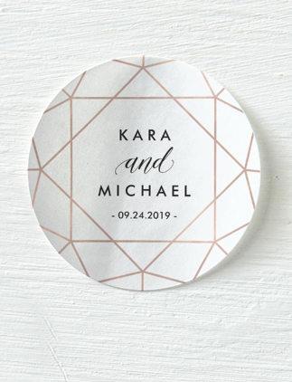 Customizable Wedding Stickers