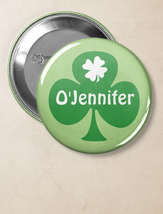 St. Patrick's Day Badges