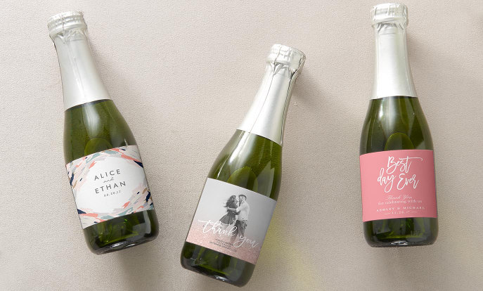 Personalize Your Wedding Wine Labels