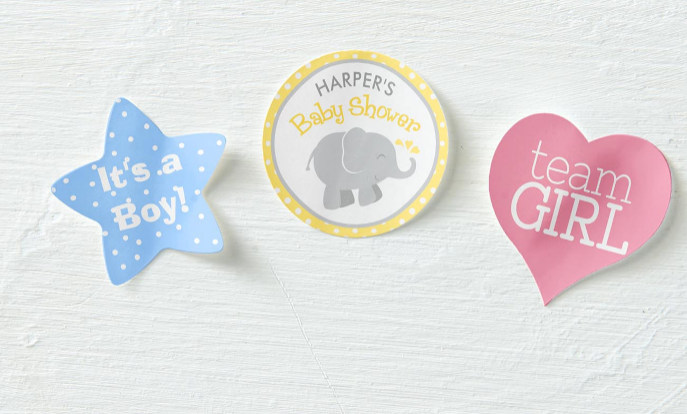 Browse our collection of stickers that you can customize!
