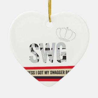 Swag Christmas Ornament