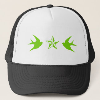 Swallows and Stars Trucker Hat