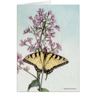 Swallowtail Butterfly by Michael Martin Note Card
