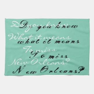 Swamp Bride - New Orleans kitchen towels