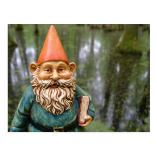 Swamp Gnome Postcard
