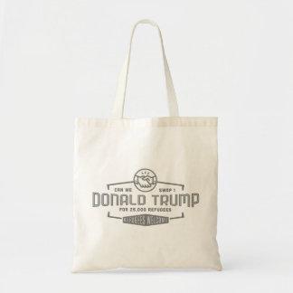 Swamp Trump for Refugees Tote Bag