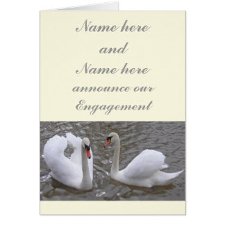 Swan Couple Engagement Announcement