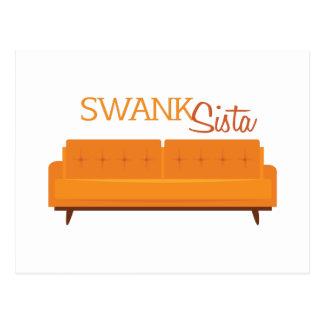 Swank Sista Postcard