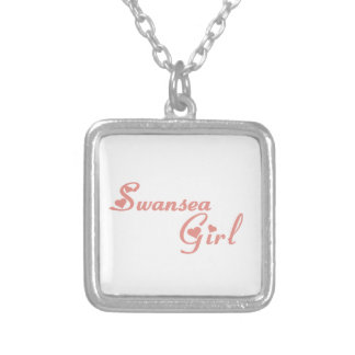 Swansea Girl Silver Plated Necklace