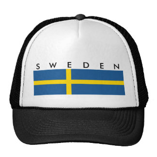 sweden country flag nation symbol text name cap