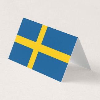Sweden Flag Business Card