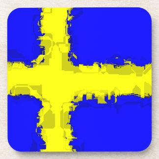 SWEDEN FLAG Coaster Set