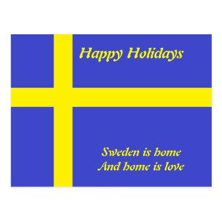 Sweden home is love  postcards