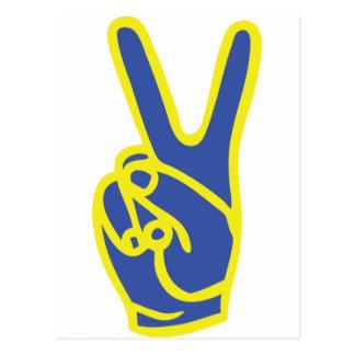 sweden peace postcard