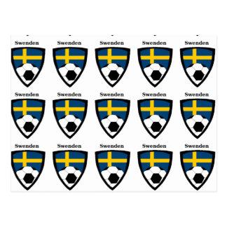 Sweden Soccer Postcard