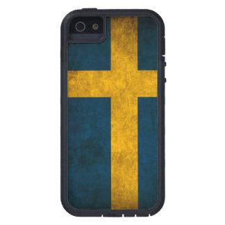 SWEDISH FLAG TOUGH XTREME iPhone 5 CASE