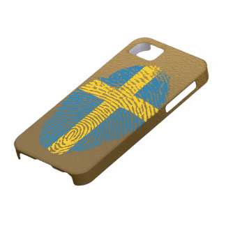 Swedish touch fingerprint flag iPhone 5 covers