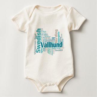 Swedish Vallhund Baby Bodysuit