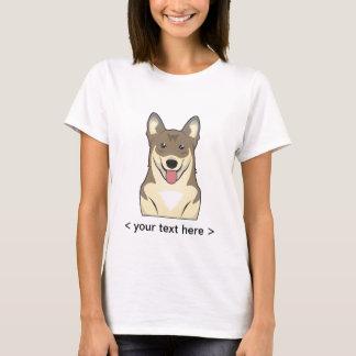 Swedish Vallhund Cartoon Personalized T-Shirt