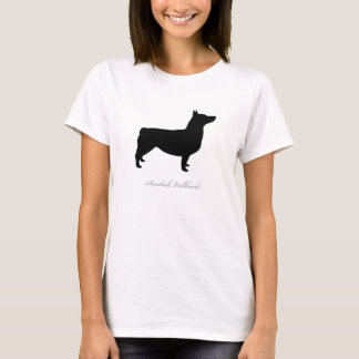 Swedish Vallhund T-shirt (black docked)