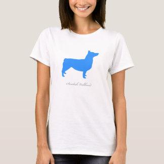 Swedish Vallhund T-shirt (blue docked)