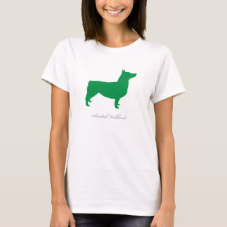 Swedish Vallhund T-shirt (green docked)
