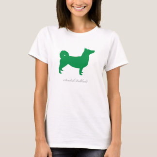 Swedish Vallhund T-shirt (green natural)