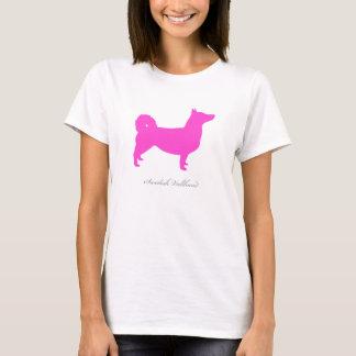 Swedish Vallhund T-shirt (pink natural)