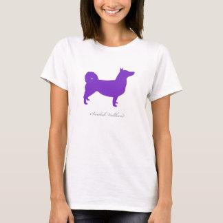 Swedish Vallhund T-shirt (purple natural)