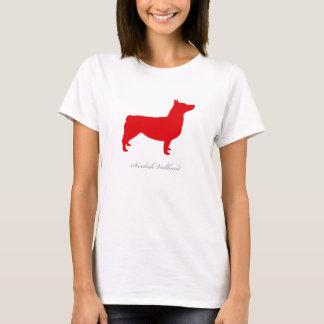 Swedish Vallhund T-shirt (red docked)