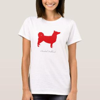 Swedish Vallhund T-shirt (red natural)