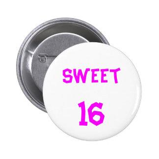 Sweet 16 Button Button