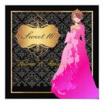 Sweet 16/ Quinceañera/Quince años Custom Invites