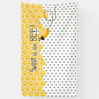 Sweet as can Bee- Baby Shower or Birthday backdrop