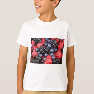 Sweet Berry Medley Print T-Shirt