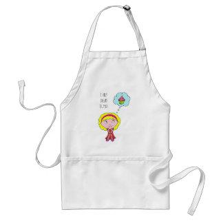 Sweet blonde girl standard apron