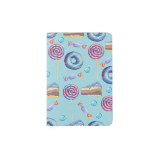 Sweet Blueberry Treats Pattern Passport Holder