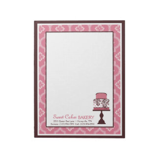 Sweet Cake Business Notepad